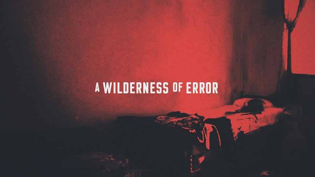 """A Wilderness of Error"" Broadcast Package by Impactist for FX Networks 