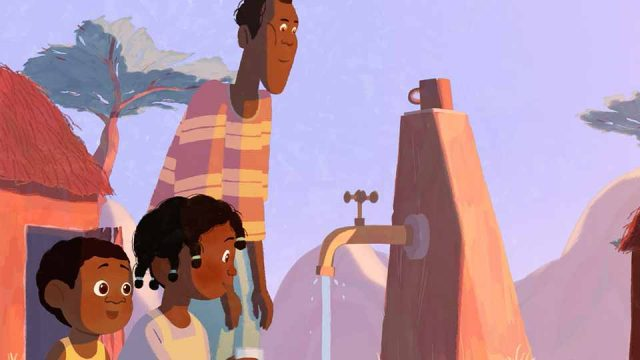 "WaterAid ""The Girl Who Built A Rocket"" by Neeraja Raj and Nexus 