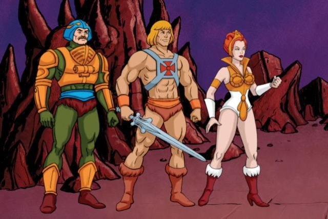 He-Man was a famous saturday morning cartoon that started out as a DC comic series