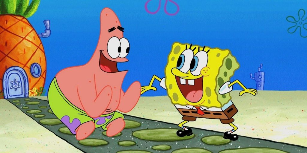 Spongebob Squarepants is one of the last cartoons of the 90s and one of the most recognizable shows today
