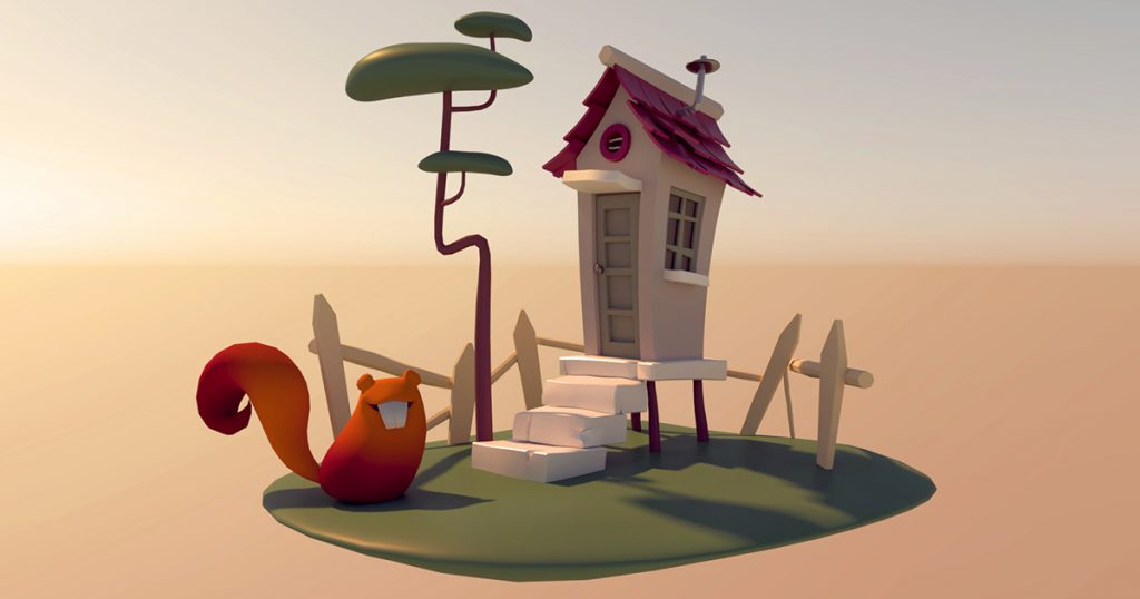 Check out this awesome squirrel house by Maya student Dani Shahfeh