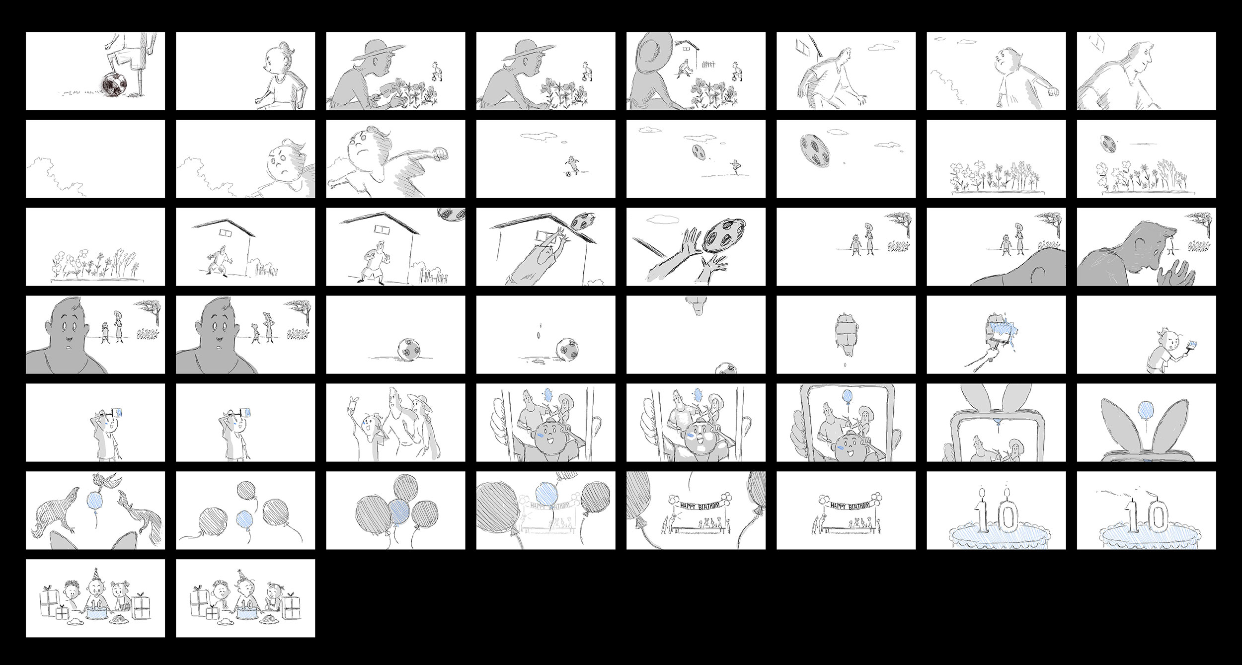 Storyboard from If Anything Happens I Love You