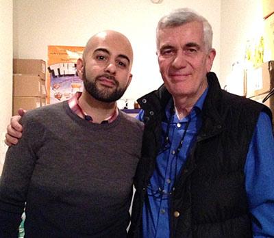 John Canemaker and Amid Amidi