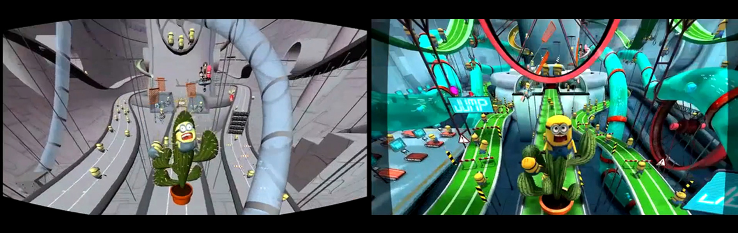 Despicable Me: Minion Mayhem 3D - Motion Simulation by The Third Floor (Universal Creative)