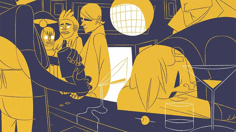 """The Last Train"" Short Film by Ross Hogg   STASH MAGAZINE"