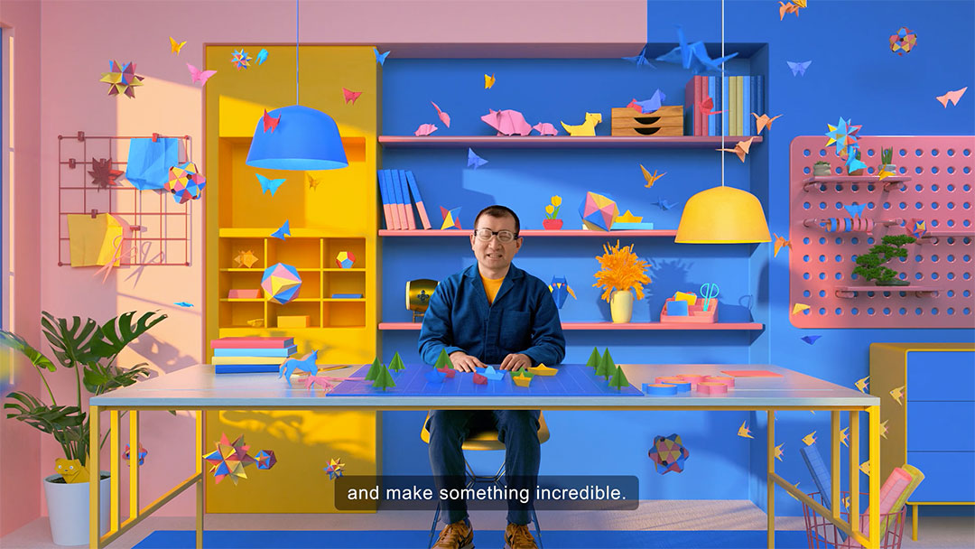 Google Life Unfolds An Origami Story WTBR State | STASH MAGAZINE