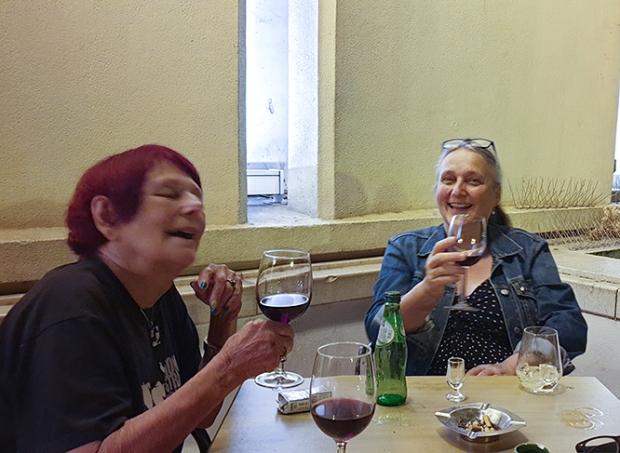Nancy with Anima Brussels co-director Karin Vandenrydt