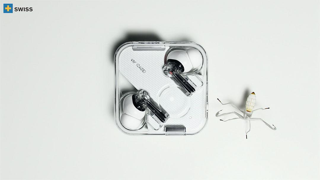 Nothing Ear Techno Ballet by Swiss International | STASH MAGAZINE